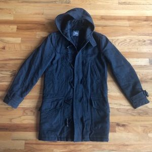 I. SPIEWAK and Sons Toggle Winter Coat Hooded S